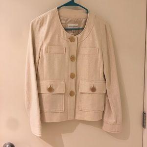 Banana Republic cotton linen mix jacket 4